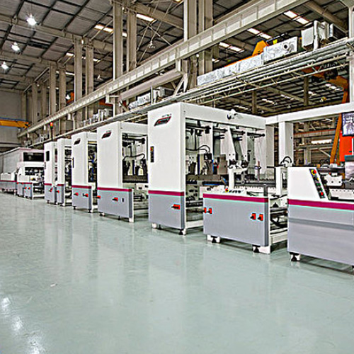 The flexible automation production line of motor stator based on modular design has been recognized as the first product in China.